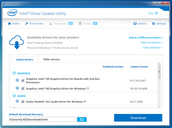 Intel quietly updates the Intel driver update utility to include SSL